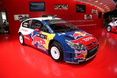The Citroen C4 WRC Royalty Free Stock Image