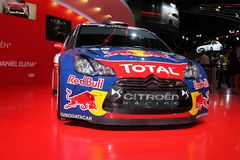 The Citroen C4 WRC Royalty Free Stock Photo