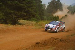Citroen C4 WRC Junior Team Stock Photography