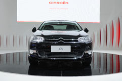 Citroen c5 front Royalty Free Stock Photography