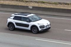 Citroen Cactus on the road Stock Photography