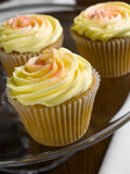 Citroen cupcake Stock Foto