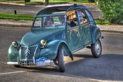Citroen 2cv (1960) Image stock