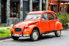 Citroen 2CV Fotografia de Stock Royalty Free