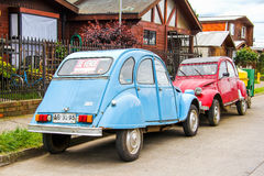 Citroen 2CV Photo libre de droits
