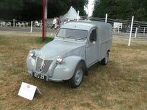 Citroen 1959 2cv AZU Fourgonnette Van fotografia stock libera da diritti