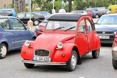Citroen 2CV6 Royalty Free Stock Images