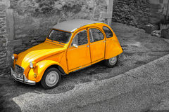 Citroen 2CV, Grignan, France Royalty Free Stock Photos