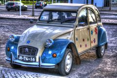 Citroen 2CV Royalty Free Stock Photos