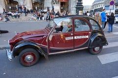Citroen 2CV Touring Car Stock Photography