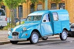 Citroen 2CV Van Royalty Free Stock Image