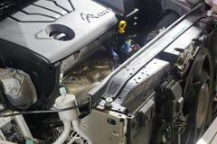 The citroen cvvt engine Stock Image