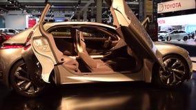 Citroen Divine DS concept car stock video