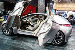 Citroen Divine DS Concept, Motor Show Geneva 2015. Royalty Free Stock Photo