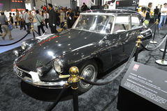 Citroen DS19�5249 hu75, General De Gaulle's car Royalty Free Stock Images