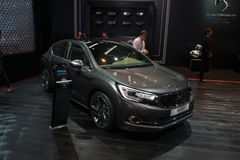 Citroen DS4 Crossback Concept - world premiere. Royalty Free Stock Image