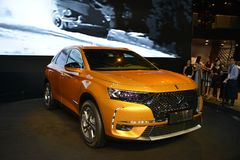 Citroen DS7 CROSSBACK SUV Royalty Free Stock Photography