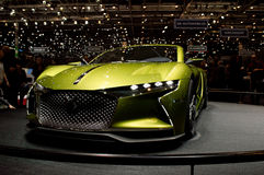 Citroen DS E Tense at Geneva 2016 Stock Image