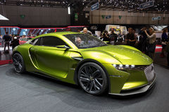 Citroen DS E-Tense GT concept car Stock Image