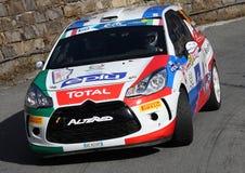 Citroen ds3 rally Royalty Free Stock Photo