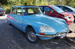 Citroen DS Four Door Sedan Stock Photo