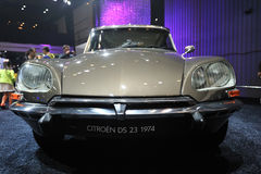 Citroen DS 23 1974. Front.Road to China's West - 16th Chengdu Motor Show, August 31th-September 8th, 2013 Stock Image