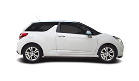 Citroen DS3. Isolated on white Stock Images