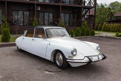 Citroen DS legitimation 19 1966 Royaltyfri Fotografi