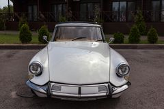 Citroen DS legitimation 19 1966 Royaltyfria Bilder