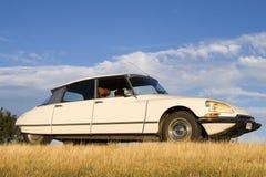 Citroen DS no outono Foto de Stock Royalty Free