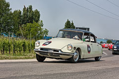 Citroen DS19 1957 in rally Mille Miglia 2011 Stock Image