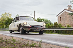 Citroen DS19 (1957) in rally Mille Miglia 2013 Stock Photos