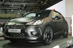 Citroen DS3. At the Moscow International Automobile Salon (MIAS-2010) August 25 - September 5 Royalty Free Stock Images