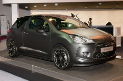 Citroen DS3 Just Black - russian premiere Stock Photos