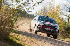 Citroen DS3 rally car Stock Photo