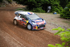 Citroen DS3 WRC Car Royalty Free Stock Images