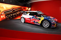 The Citroen DS3 WRC Rally Racing Car Royalty Free Stock Photography