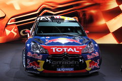 The Citroen DS3 WRC Rally Racing Car Stock Photos