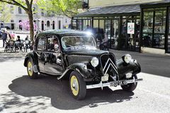 Citroen front-wheel Drive black Royalty Free Stock Photography