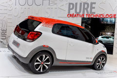 Citroen at the 2014 Geneva Motorshow. The new Citroen C1 at the 2014 Geneva Motorshow Royalty Free Stock Photos