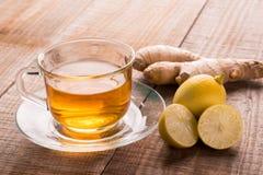 Citroen Ginger Tea Royalty-vrije Stock Fotografie