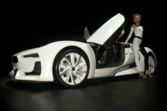 Citroen GT conceptcar Photo stock