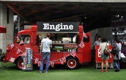 Citroen H Van in London Stock Photos