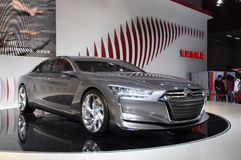 Citroen Metropolis concept limousine. In its exhibition hall,in 2010 international Auto-show GuangZhou. it is from 20/12/2010 to 27/12/2010. photo taken on 25 Royalty Free Stock Image