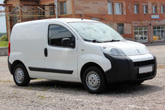 Citroen Nemo 2008 white Stock Image