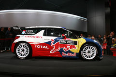 Citroen rally car 2012 Stock Photo