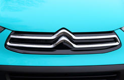 Citroen`s New Redesigned Logo. Royalty Free Stock Photography