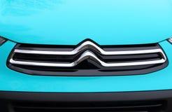 Citroen ` s nowy przekonstruowywający logo Fotografia Royalty Free