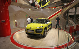 Citroen salon in Champs Elysees. Paris Royalty Free Stock Photography