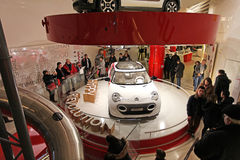 Citroen salon in Champs Elysees. Paris Royalty Free Stock Image